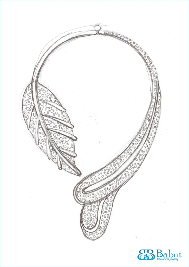 sketches jewelry design