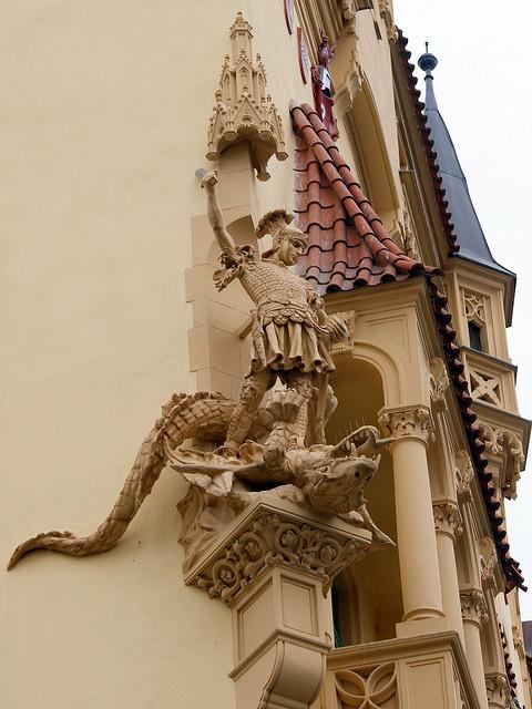 St.George and Dragon - Prague, Czechia | Prague - capital ...