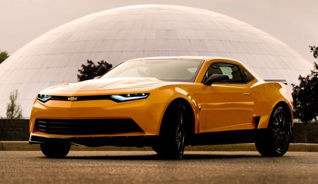 2014 Camaro Concept is new Bumblebee, Transformers 4 onslaught continues