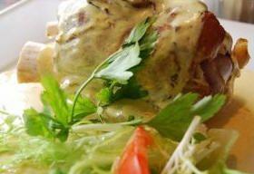 recettes: Plat principal: Jambonneau à la moutarde