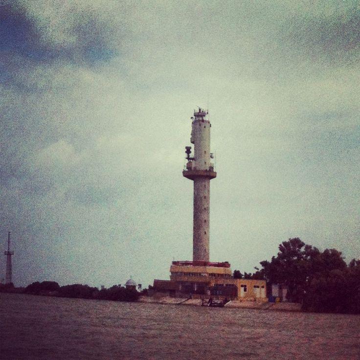 New lighthouse on Danube, Sulina (Tulcea)
