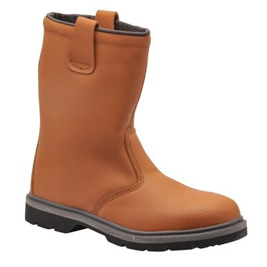 The Portwest FW12 Steelite Rigger Boots S1P Ci HRO are a preferred choice for many offshore workers.