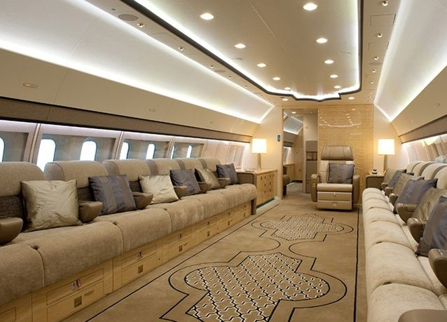 Private Interior Photos Boeing 777  PHOTOS Boeing Displays BBJ 3 At EBACE