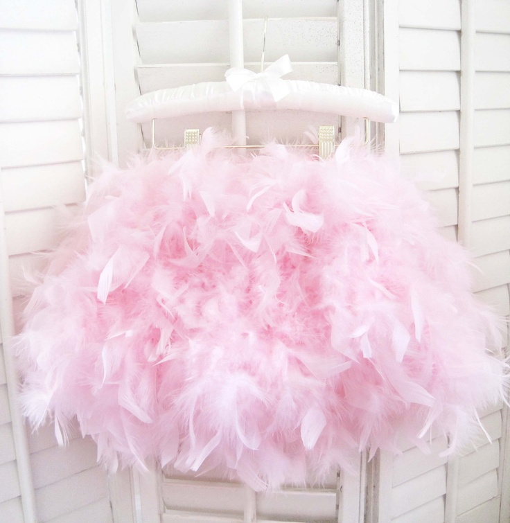 Parisian Pink Angel Feather Tutu- Love this for a little girl's birthday party or pictures!!!