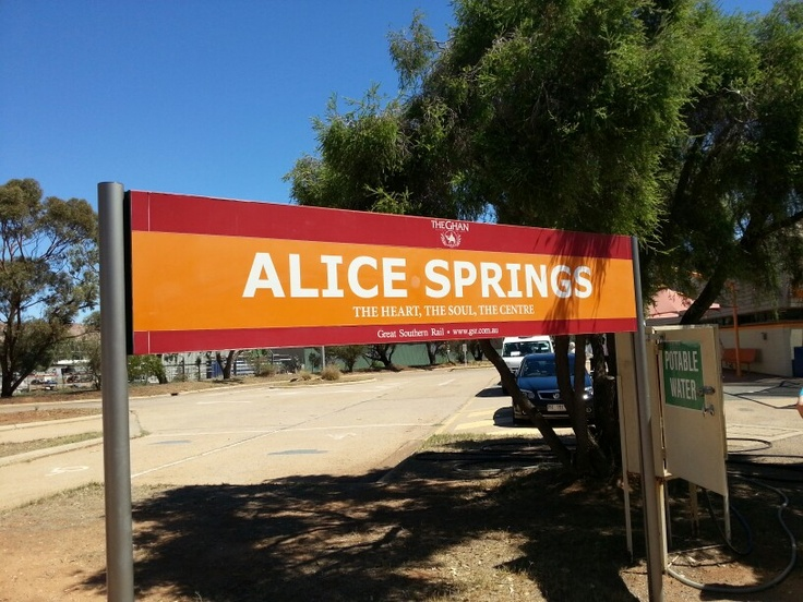 Alice rail station
