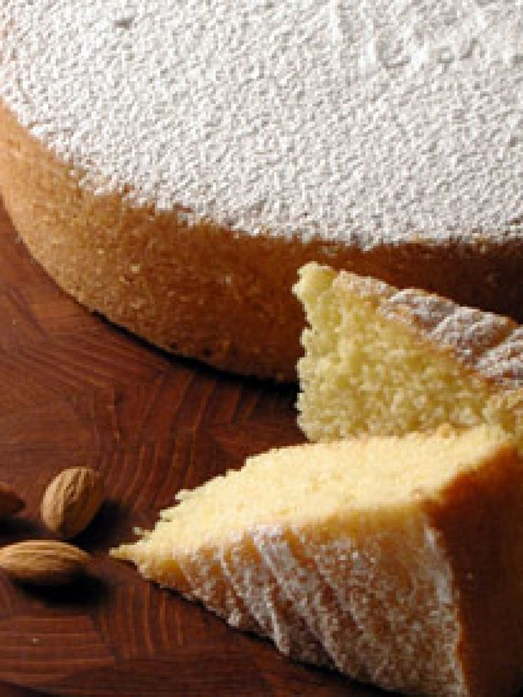Almond Cake recipe from Giada De Laurentiis via Food Network