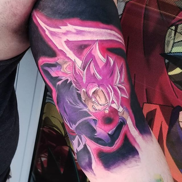 Goku Black Tattoo Gokublack Gokublacktattoo Dragon Ball Tattoo Tattoos Z Tattoo