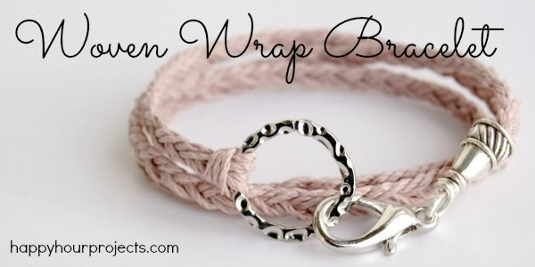 woven wrap bracelet tutorial  http://happyhourprojects.com/woven-wrap-bracelet/