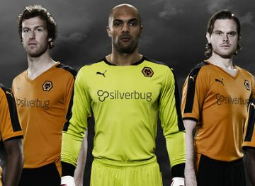 Wolverhampton Wanderers FC 2015/16 PUMA Home Kit
