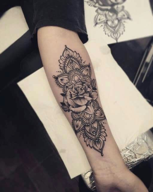 Tattoo Frau Arm Tattoo Unterarm Frau Home Design Modell Tattoo Mandala 511   – Tattoos
