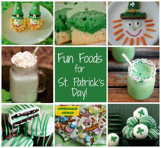 St. Patrick's Day Fun Foods