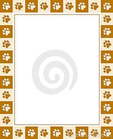 Paw рамка для печати