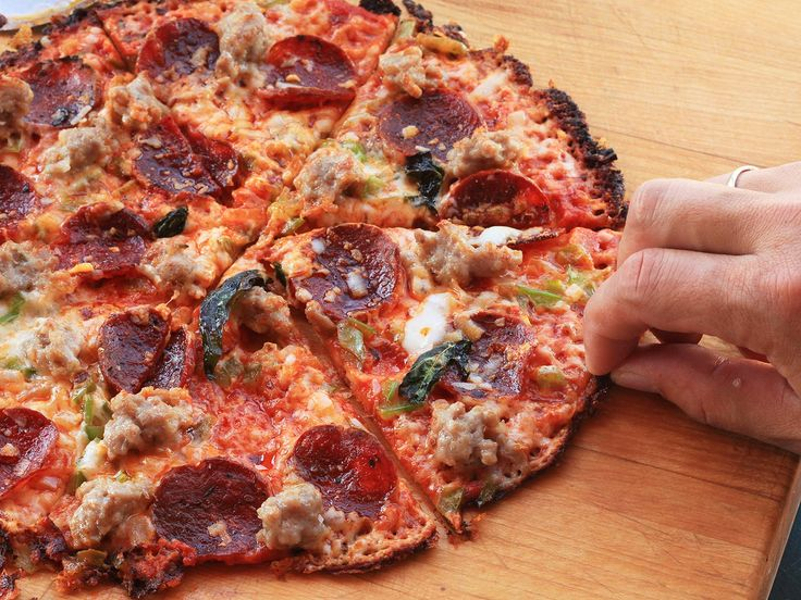Use Your Cast Iron Pan and a Tortilla for Extra-Crispy Pizza in Just 12 Minutes | Serious Eats