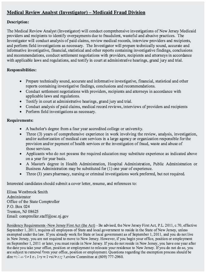 Medical Assistant Resume Description