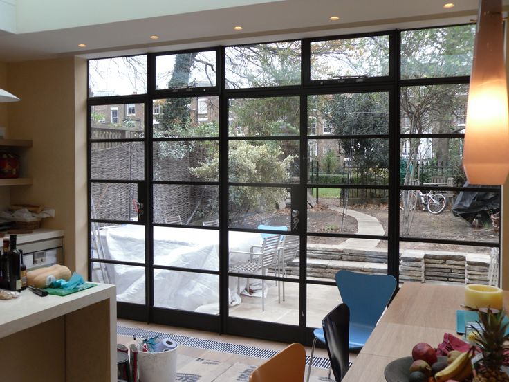 Crittall Steel Doors installed by Lightfoot Windows (Kent) Ltd to let light into the home