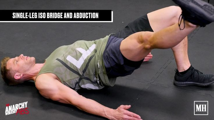 This circuit targets the stabilizer muscles around your core with a combination of isolation and cardio exercises. Workout creator, Andy Speer, uses bridges, planks, and a plyometric move that focus on strengthening the glutes and hips so you can develop or increase definition in your core.