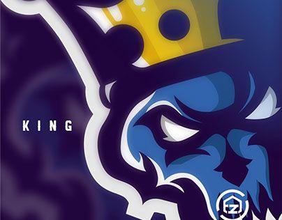 "Check out new work on my @Behance portfolio: ""BLUE KING | Esport Logo"" http://be.net/gallery/57360337/BLUE-KING-Esport-Logo"