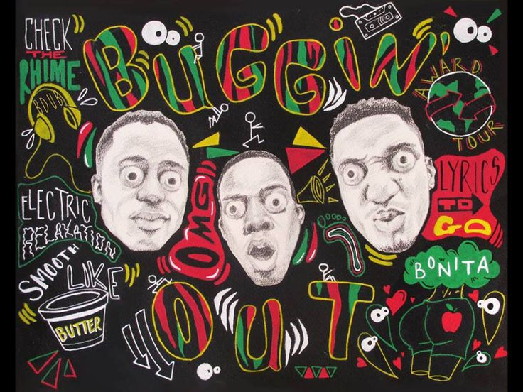 A Tribe Called Quest by Brittany Williams