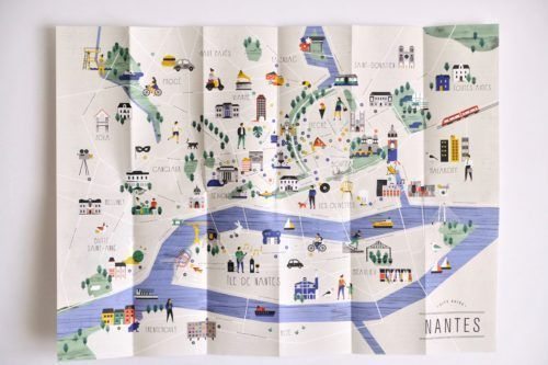 City Guide Design Illustrated Maps Budget Travel In 2020 City Guide Design City Maps Illustration Illustrated Map