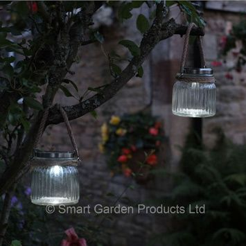 Smart garden cornish sea lantern solar lights pack of 2
