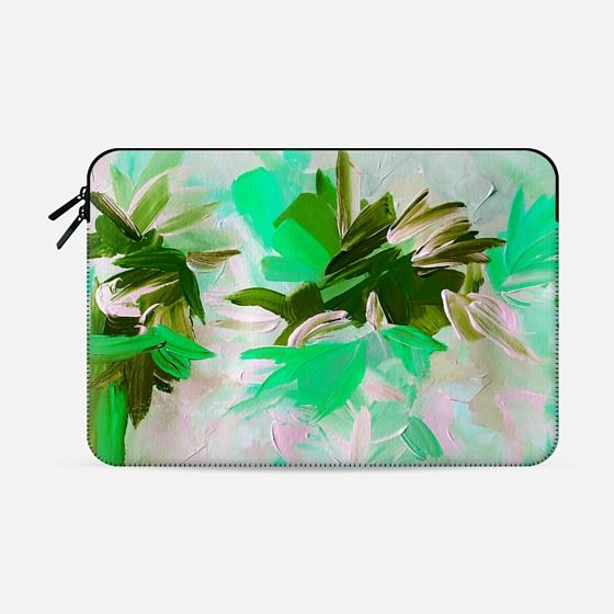 """Deconstructing the Garden 5"" by Artist Julia Di Sano, Ebi Emporium on @casetify Fine Art Abstract Acrylic Painting Elegant Wedding Floral Bride Bridal Bouquet Flowers Mint Green Grey White Feminine Girly Design Colorful Tech Device Macbook Laptop Sleeve #art #fineart #green #wedding #romantic #floral #flowers #macbookpro #macbookair #sleeve #macbook #chic #garden #painting #techdevice #tech #MacbookCover #pattern Get $10 off using code: 5K7VFT"