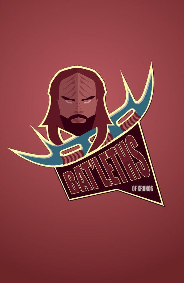#STARFLEET INTELLIGENCE: #Klingon Bat'leths | #StarTrek
