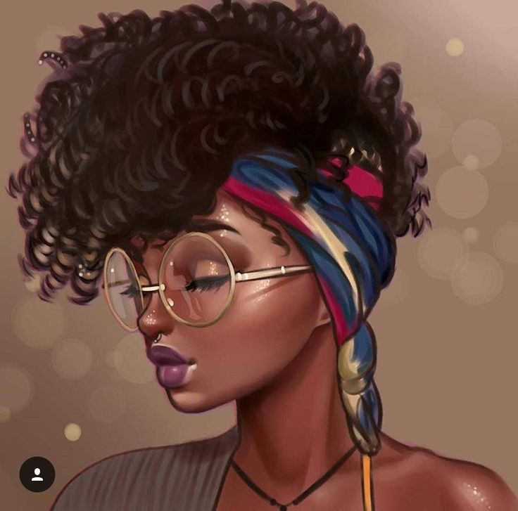 Image result for african american cartoon art afro