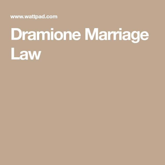 Dramione Marriage Law