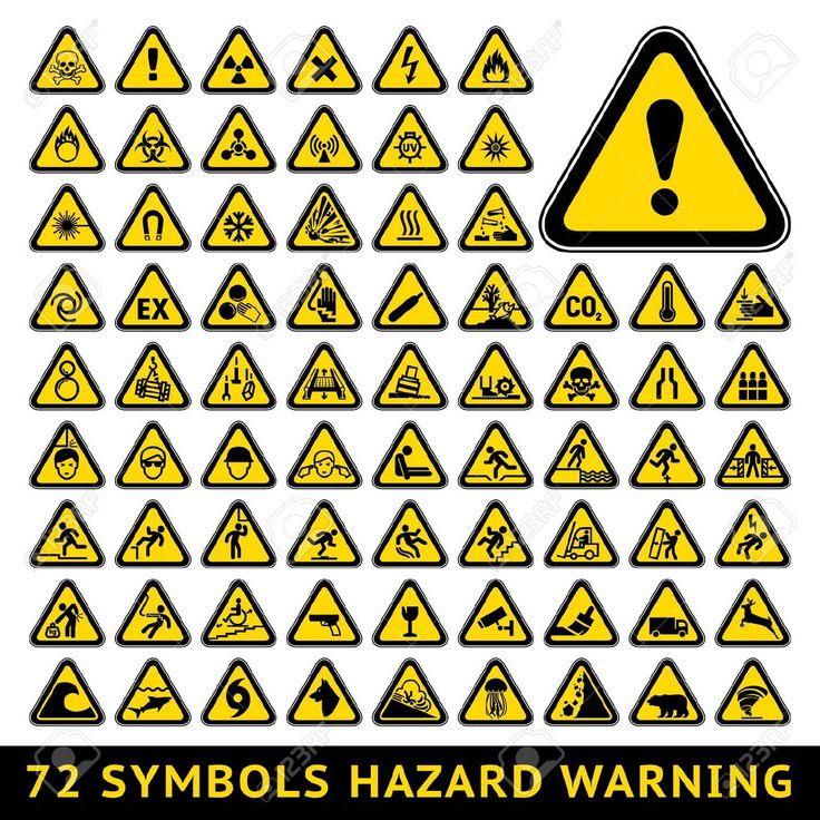 20 Best Images About Warning Symbols On Pinterest
