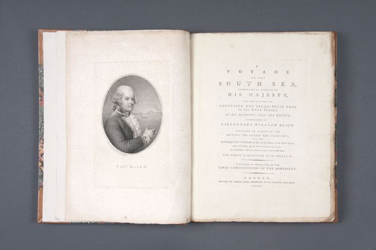 Books, Manuscripts, and Maps | Bligh, William. A Voyage to the South Sea… - The Curator's Eye