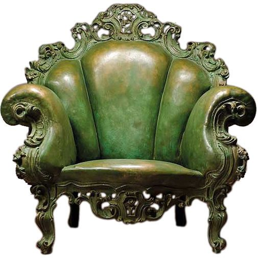 Monster Chair....check it out....height: 8 ft. 9 in.