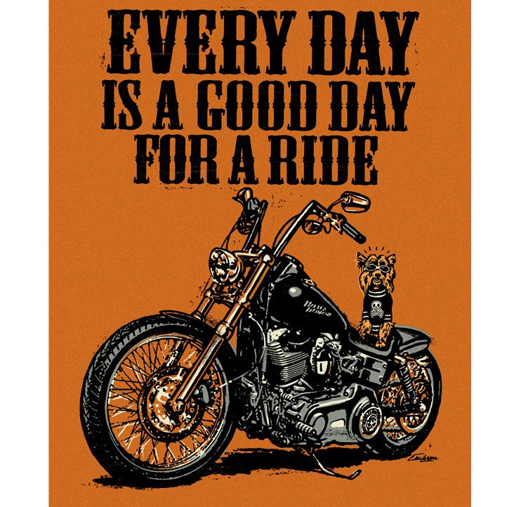Every day is a good day for a Harley ride with my hubby!  What a beautiful day it is too!  Hope everyone has a fabulous Sunday!