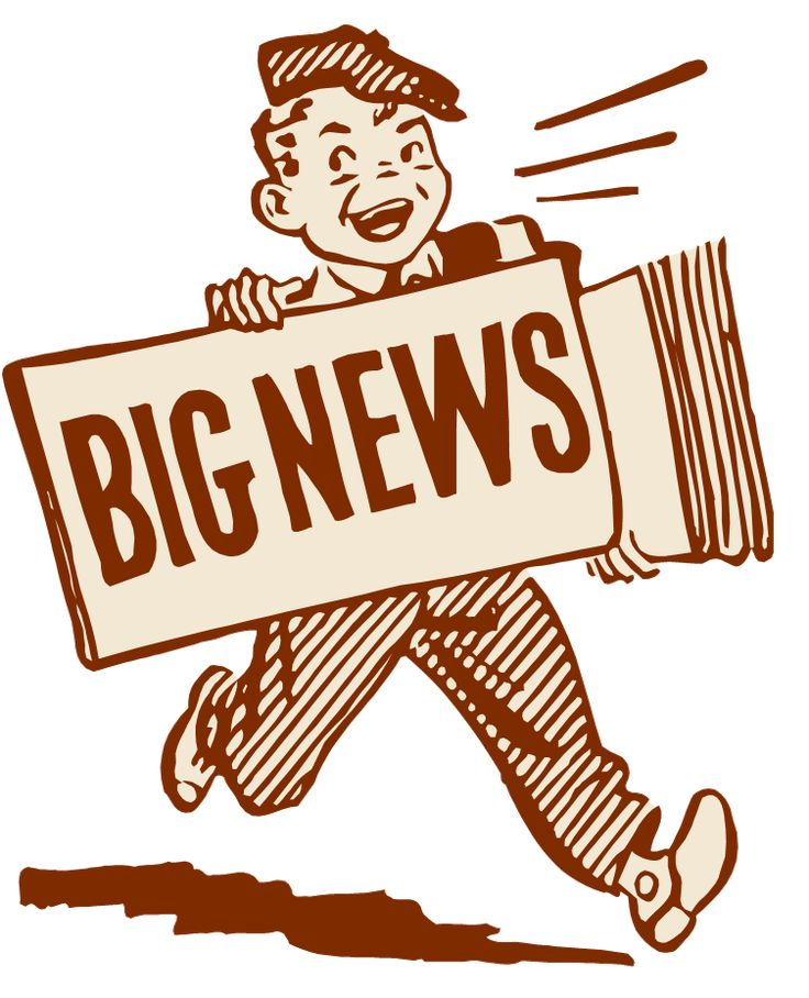How to Write a News Release Big news, Clip art, Exciting