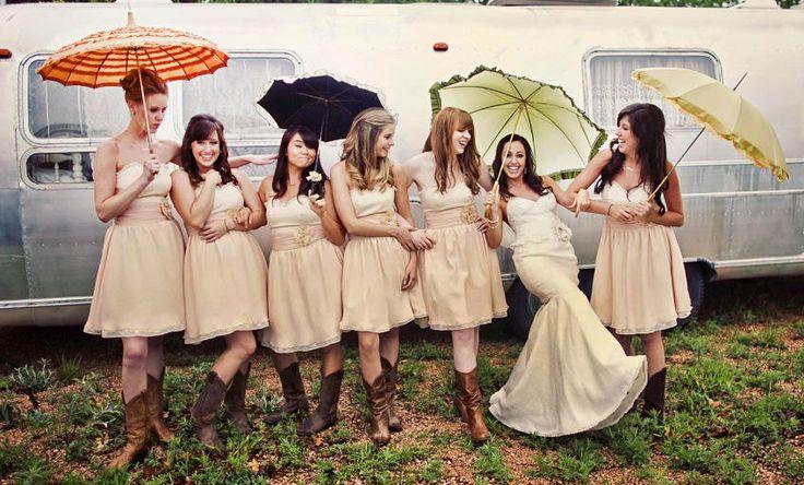 An Airstream wedding