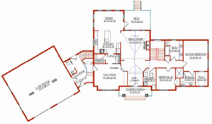 Addition plans for bi level home bi level house plan Bi level house plans with garage