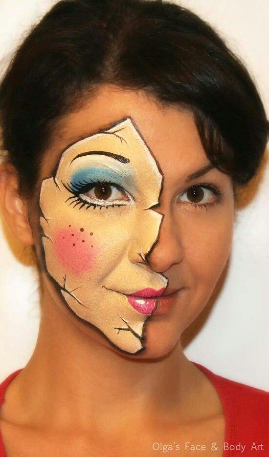 Olga Maleca doll face