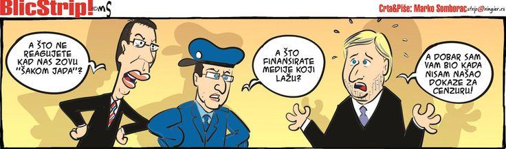 BLIC STRIP Crta i piše Marko Somborac