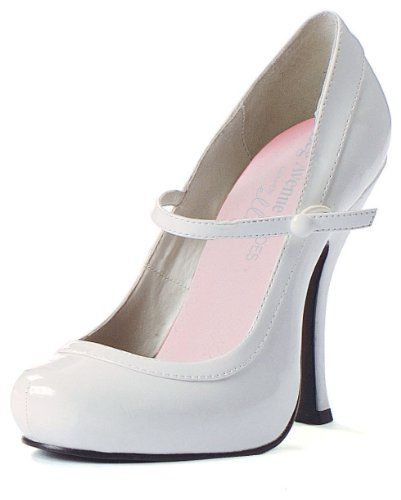 Sexy White Patent Mary Jane Shoe « Holiday Adds