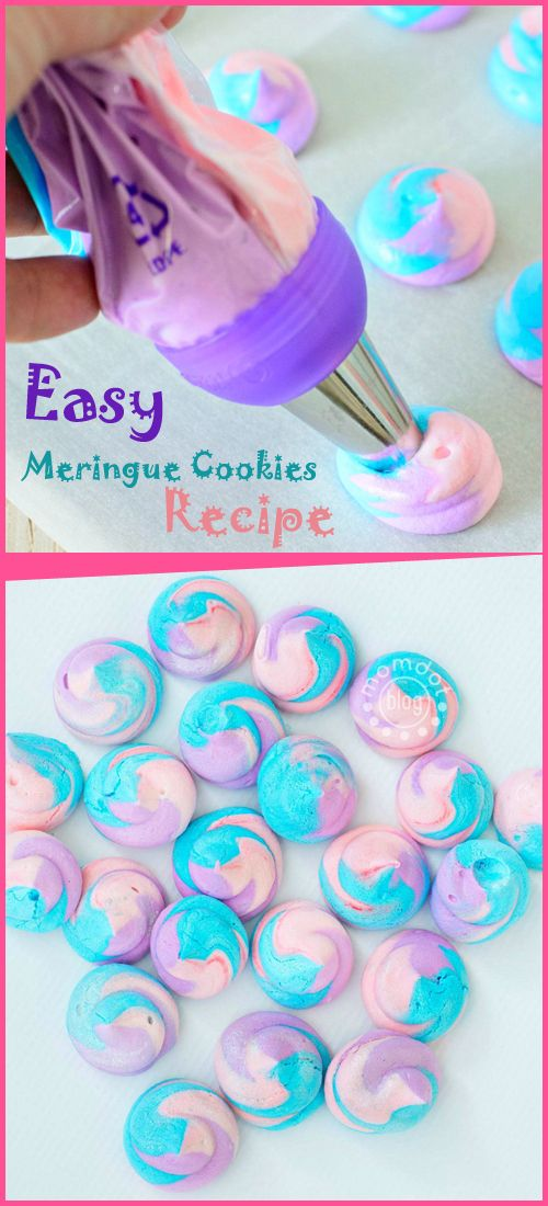 OMG! These Easy Meringue Cookies Recipe could be the perfect ending or start of each and every day