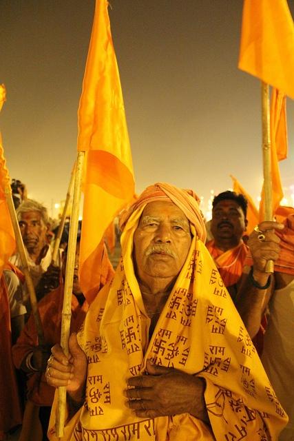 The Day of the Shahi Snan Basant Panchami 15 Feb 2013, via Flickr.