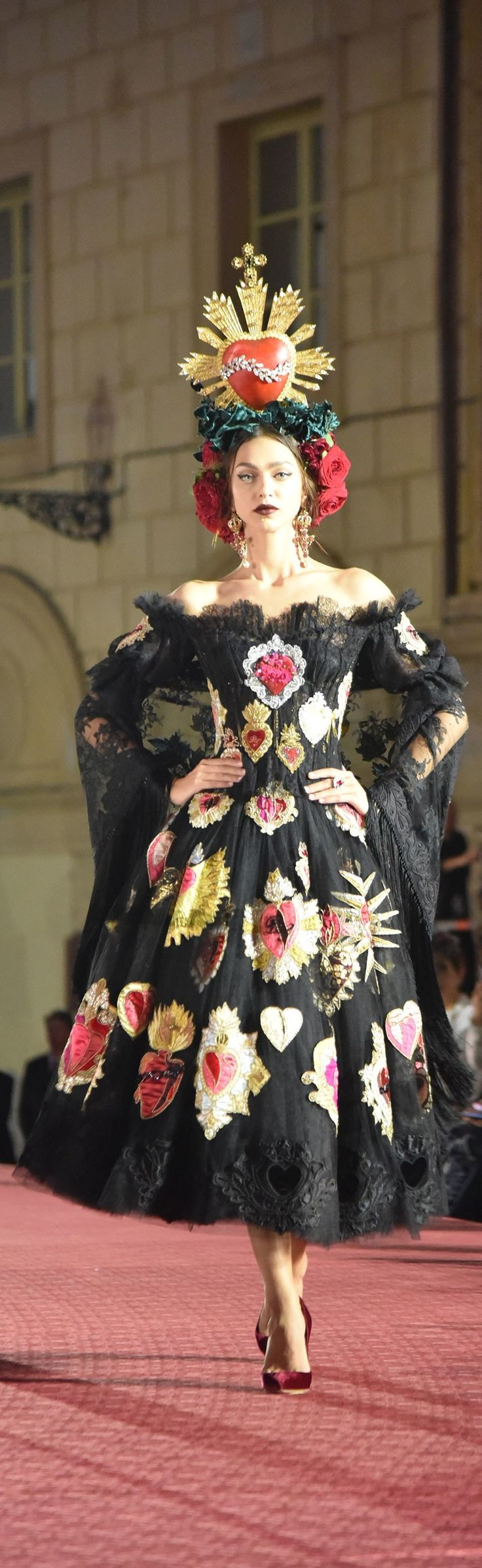 Dolce and Gabbana Fall 2017 Couture vogue.com