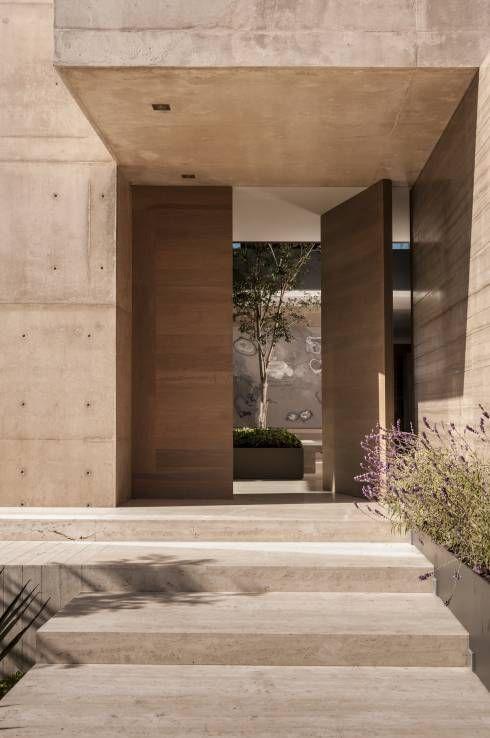 1000 ideas about puertas principales modernas on - Entradas de casas modernas ...