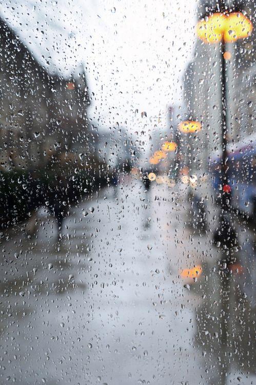 walking between the raindrops...