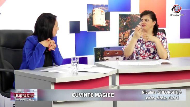"""Cuvinte magice"", Brașovul Actual, 11.06.2018, Niculina Gheorghiță"