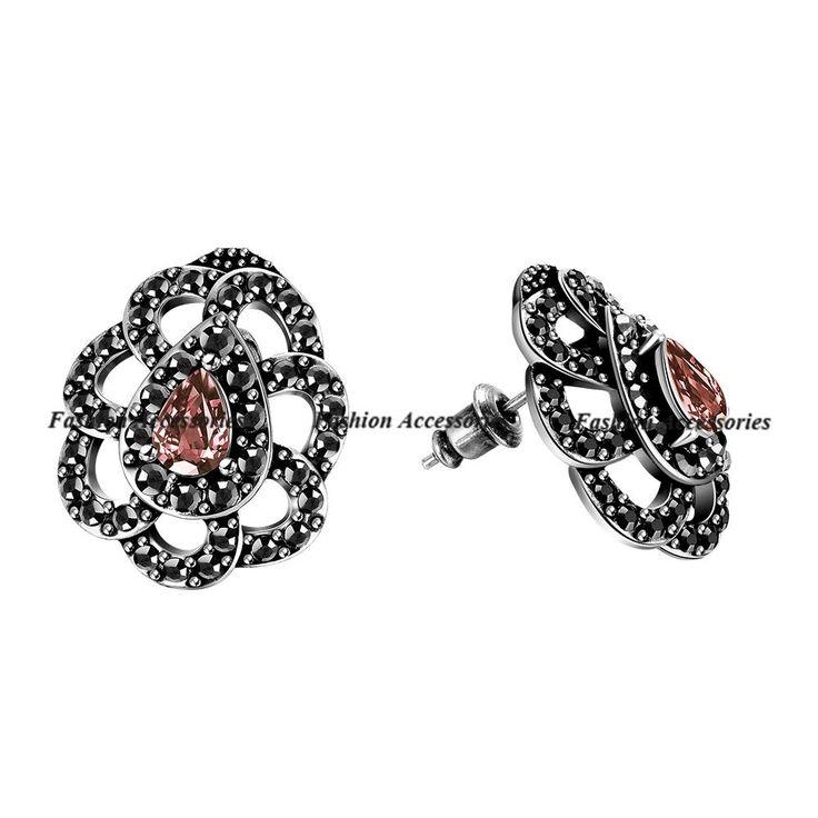 Vintage Magnetic Earrings For Girls CZ Diamond Clip On Earrings Fashion Earrings For Women Earings Fashion