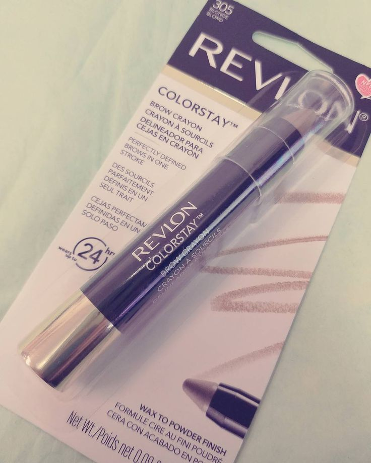 Here is another goodie ��Revlon�� sent me yesterday. Colorstay brow crayon in blonde. This is supposed to go from a wax to powder finish. I will try on and review these Revlon products tonight. Stay tuned��  #revlon #revloncolorstay #eyebrows #eyebrowcrayon #makeup #makeupblogger #makeupblog #makeupaddict #makeupjunkie #beautiful #motd #fotd #beautyguru #picoftheday#photooftheday #love #pic #beautyblog #beautyblogger #beautygram#beauty #photo #photography #instalike #instafollow #instalove…