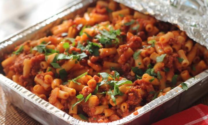 One-pot beefy macaroni