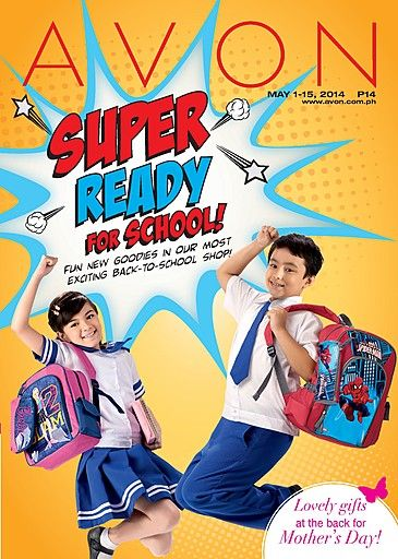 Hey Super #Moms! As the school opening comes closer, we give you fun new goodies in our most exciting back-to-school shop! Choose from school bags and school accessories featuring #SpiderMan and #Barbie!  Visit www.avon.com.ph to view our latest brochure or leave your contact details in this site http://avon4.me/FindAnAvonREP so an Avon Representative can get in touch with you!