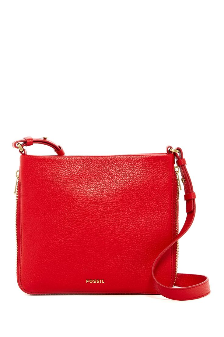 Preston Leather Crossbody by Fossil on @nordstrom_rack