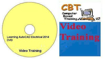 Learning AutoCAD Electrical 2014 Video Training DVD